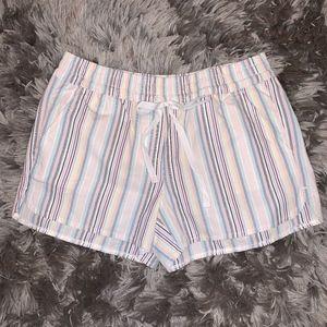 LOFT Striped Running Short XS